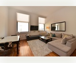 Contemporary One Bedroom with soaring ceilings in historical Flatiron building 