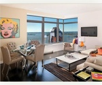 W Hotel Downtown Condominium, Hotel Amenities. Views of 9/11 Memorial Park, Statue of Liberty, Hudson River, City of Manhattan and Beyond. Fully Furnished. 