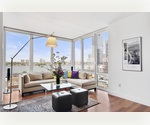 Beautiful Luxury Condominium, 10 West End Avenue, Residence 11-G, Stunning Corner One Bedroom, One Bath, Bright , Spacious with a View