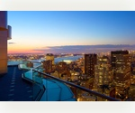 Frank Gehry Downtown Penthouse Living | Financial District | Three Bedroom Three Bathroom | Rental | Skylit 50ft Pool