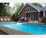 WESTHAMPTON  CONTEMPORARY  HEATED POOL