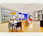 SoHo Loft Three Bedroom Condo with Views and Amenities at Jean Nouvel's 40 Mercer
